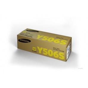 CLT-Y506S Lézertoner CLP 680ND, CLX 6260 nyomtatókhoz, SAMSUNG, sárga, 1,5k