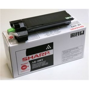 AR208T Fénymásolótoner AR 203 fénymásolóhoz, SHARP fekete