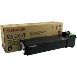Fénymásolótoner MX 206GT fénymásolóhoz, SHARP fekete, 16k