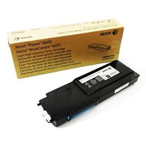 106R02233 Lézertoner Phaser 6600, WC6605 nyomtatóhoz, XEROX kék, 6k