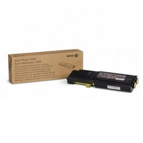 106R02251 Lézertoner Phaser 6600,WC6605 nyomtatóhoz, XEROX, sárga, 2k