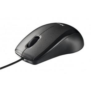 """Egér, vezetékes, optikai, nagy méret, USB, TRUST """"Carve"""", fekete"""