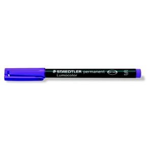"""Alkoholos marker, OHP, 0,4 mm, STAEDTLER """"Lumocolor 313 S"""", lila"""