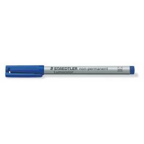 """Alkoholmentes marker, OHP, 1 mm, STAEDTLER """"Lumocolor 315 M"""", kék"""
