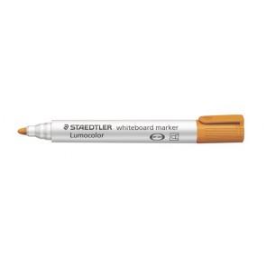 "Táblamarker, 2 mm, kúpos, STAEDTLER ""Lumocolor 351"", narancssárga"