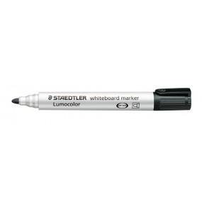 "Táblamarker, 2 mm, kúpos, STAEDTLER ""Lumocolor 351"", fekete"