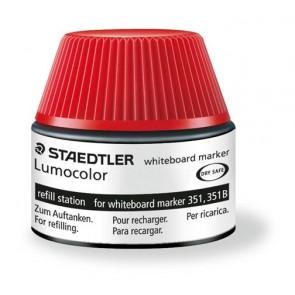 """Utántöltő táblamarkerhez, STAEDTLER """"Lumocolor"""", piros"""