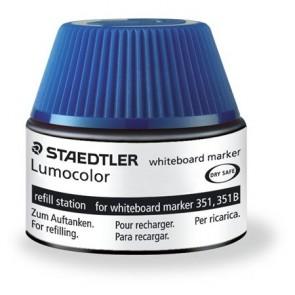 """Utántöltő táblamarkerhez, STAEDTLER """"Lumocolor"""", kék"""