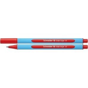 """Golyóstoll, 0,5 mm, kupakos, SCHNEIDER """"Slider Edge M"""", piros"""