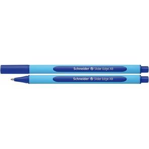 """Golyóstoll, 0,7 mm, kupakos, SCHNEIDER """"Slider Edge XB"""", kék"""