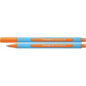 "Golyóstoll, 0,7 mm, kupakos, SCHNEIDER ""Slider Edge XB"", narancssárga"