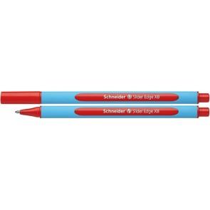 "Golyóstoll, 0,7 mm, kupakos, SCHNEIDER ""Slider Edge XB"", piros"
