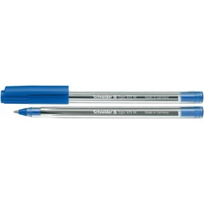 "Golyóstoll, 0,5 mm, kupakos, SCHNEIDER ""Tops 505 M"", kék"
