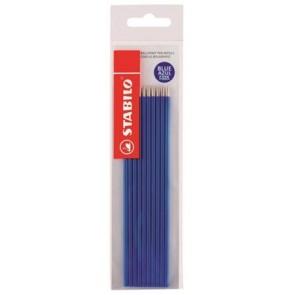 """Golyóstollbetét, 0,38 mm, STABILO """"Liner 808"""" és """"Excel"""" tollakhoz, kék"""