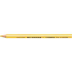 "Színes ceruza, háromszögletű, vastag, STABILO ""Trio"", sárga"