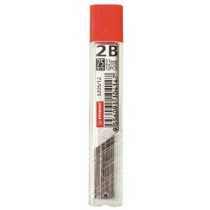 "Grafitbél, 2B, 0,5 mm, STABILO ""3205"""