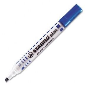 """Táblamarker, 1-5 mm, vágott, STABILO """"Plan"""", kék"""