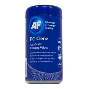 """Tisztítókendő, általános felületre, 100 db, AF """"PC-Clene"""""""