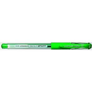 """Zseléstoll, 0,25 mm, kupakos, UNI """"UM-151 Signo DX"""", zöld"""