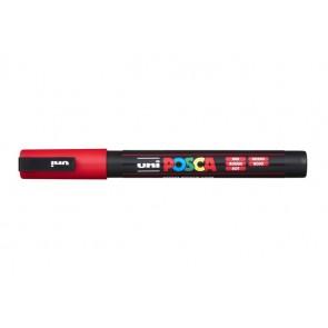 """Dekormarker, 0,9-1,3 mm, UNI """"Posca"""", piros"""