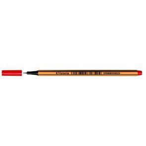 "Tűfilc, 0,4 mm, VICTORIA,""Slim"", piros"