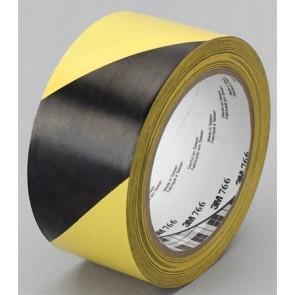 Ipari jelzőszalag, 50mm x 33m, 3M, sárga-fekete