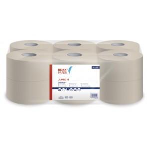 """Toalettpapír, 1 rétegű, 125 m, 19 cm átmérő, LUCART, """"Jumbo 19"""", beige"""