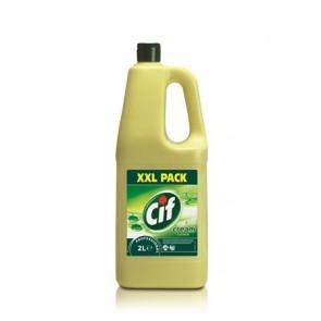 "Súrolószer, 2 l, CIF ""Cream"", citrom illat"