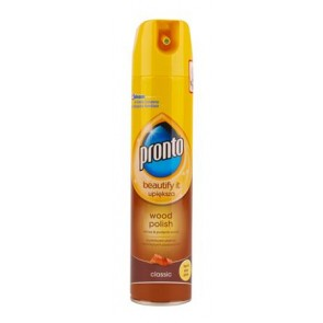"Felülettisztító, spray, 0,25 l, PRONTO ""5in1 Classic Wood"""