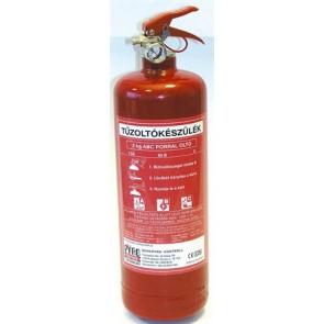 Tűzoltó készülék, ABC porral oltó, 2 kg