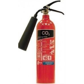 Tűzoltó készülék, szén- dioxiddal oltó, 2 kg
