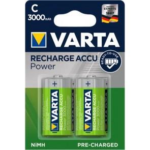 """Tölthető elem, C baby, 2x3000 mAh, előtöltött, VARTA """"Power Accu"""""""