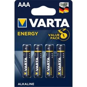 """Elem, AAA mikro, 4 db, VARTA """"Energy"""""""