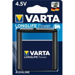 """Elem, 3LR12 lapos elem, 4,5 V, 1 db, VARTA """"Longlife Power"""""""