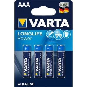 "Elem, AAA mikro, 4 db, VARTA ""Longlife Power"""