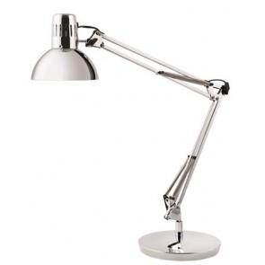 "Asztali lámpa, 11 W, ALBA ""Architect"", króm"