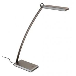 """Asztali lámpa, LED, 4,8 W, ALBA """"Ledtouch"""" USB porttal"""