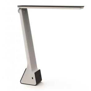 """Asztali lámpa, LED, vezeték nélküli, újratölthető, USB, MAUL, """"Seven colour vario"""", fekete"""