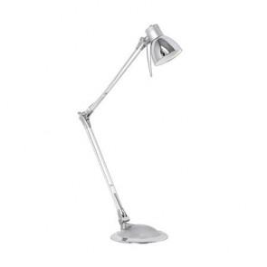 """Asztali lámpa, LED 4 W, EGLO """"Plano"""" ezüst"""
