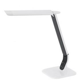 """Asztali lámpa, LED 6 W, EGLO """"Sellano"""", fehér-fekete"""