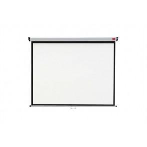 Vetítővászon, fali, rolós, 4:3, 175x133 cm, NOBO