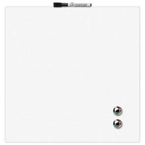 Üzenőtábla, mágneses, írható, fehér, 36x36 cm, REXEL