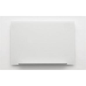 Mágneses üvegtábla, 38,1x67,7 cm, NOBO, fehér
