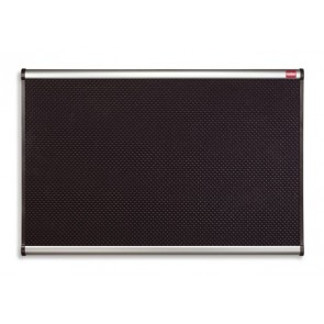 """Habtábla, tűzhető, fekete, 60x90 cm, alumínium/műanyag keret, NOBO """"Prestige"""""""