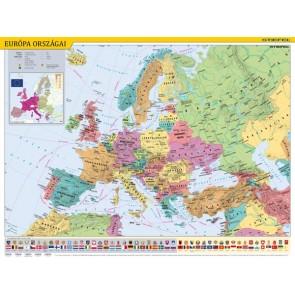 """Könyökalátét, kétoldalas, STIEFEL, """"Európa országai/Európa gyerektérkép"""""""