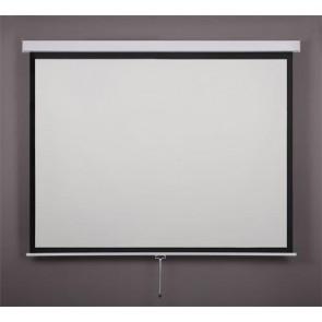 Vetítővászon, fali, rolós, 4:3, 200x150cm, VICTORIA