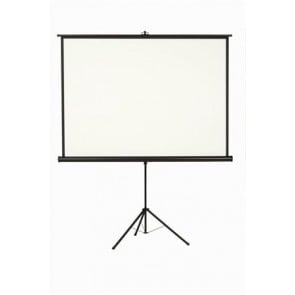 Vetítővászon, hordozható, 1:1, 200x200 cm, VICTORIA