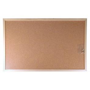Parafatábla, kétoldalas, 40x60 cm, fa keret, VICTORIA
