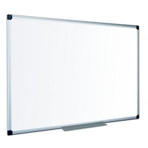 Fehértábla, zománcozott, mágneses, matt,  120x180 cm, alumínium keret VICTORIA