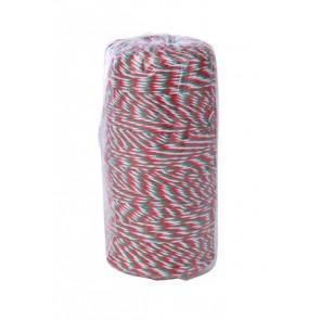 Kötözőzsineg, nemzeti színű, pamut, 200m, VICTORIA